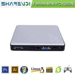 China Intel cpu processor cheap embedded pc with J1900 CPU mini pc on sale