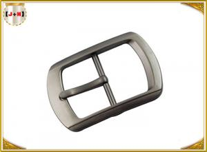 Quality Single Pin Metal Center Bar Replacement Belt Buckles Zinc Alloy Material for sale