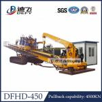 450Ton Capacity City Construction DFHD-450 Horizontal Directional Drilling HDD Rig Machine