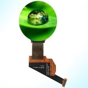 1 39 inch mipi dsi hdmi active matrix oled display round