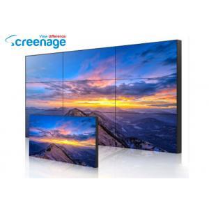 China 55 Inch Seamless Wall Mount LCD Display Narrow Bezel Irregular Splicing Advertising Screen on sale