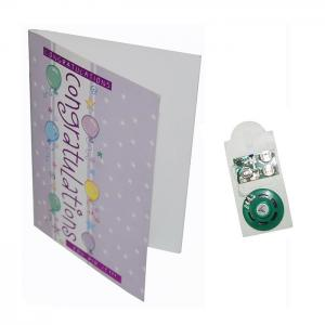 China Paper Material Musical Greeting Cards Happy Birthday Sound Full Color Printing on sale