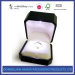 Black Diamond Jewelry Packaging Boxes 4 Color Offset Printing Recyclable Material