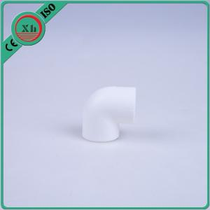 China Injection Moulding PPR Elbow Pipe Fitting 90 Degree White Color Recycled on sale
