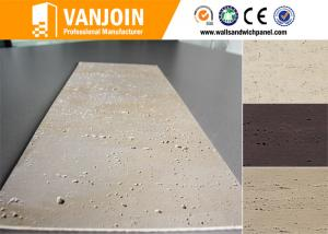 Quality Light Weight Soft Clay Wall Tile With Travertine Slate Decorative Tiles For