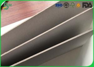 China 1.0mm 1.4mm Laminated Grey Board Paper Carton Cris For Notebook / File Folders on sale