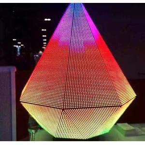 Triangle Dj Club Diy Led Display 3d , Led Video Wall Panel