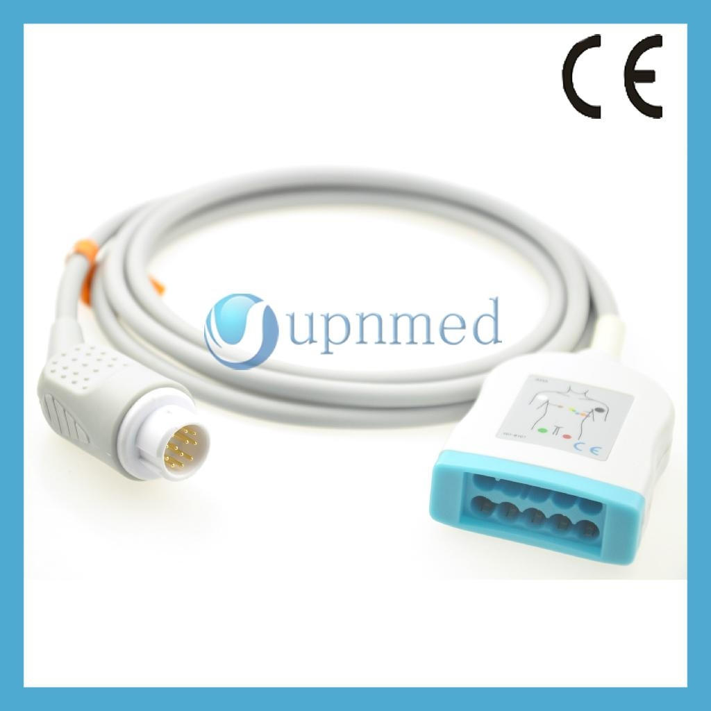 M1949A Philips 10 lead ECG trunk cable
