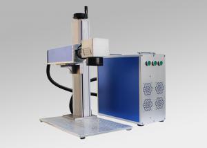 China Portable Metallic Fiber Laser Marking Engraving Machine Made in China on sale