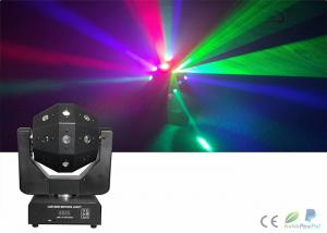 China 3 in1 Laser Strobe Light Beam Moving Head , Magic Disco Dj Stage Lights on sale