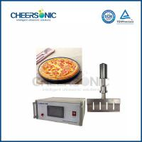 20KHZ Commercial Ultrasonic Pizza Pastry Cutting Machine With Fast Speed
