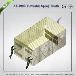 China CEand ISO approval paint drying oven,auto painting booth,portable car spray booth,best spr on sale