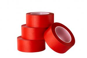 China High temperature stand Colorful PET polyester Self Adhesive Masking Tape For Cable  wrapping on sale