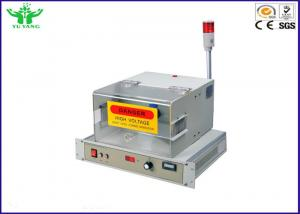 China 0~25mm High Frequency Wire Testing Equipment , Cable Spark Testing Machine 0-15kv on sale