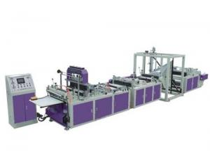 Quality Fully Automatic ultrasonic Non Woven Bag Making Machine For Square Bottom Box Bag for sale
