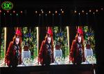 Video Mobile LED Indoor Advertising Screens , LED Video Wall Panels 4mm Pixels
