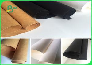 China Washable Kraft Liner Paper For Trademark / White Kraft Paper Roll on sale