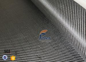 Quality 3K 200g 0.3mm Carbon Fiber Fabric For Reinforcement , Heat Resistant Insulation for sale