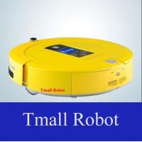 Robot Vacuum Cleaner With Two Side Brushes LED Touch Screen Schedule Virtual Wall