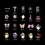 Clave el diamante artificial de lujo colorido ML513-532 del brillo de la joyería de la aleación del arco del art déco
