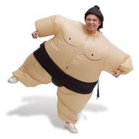 China Sumo Wrestler Inflatable T Rex Costume , Adult Fat Inflatable Baymax Costume on sale