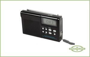 China Portable PLL Multi Band Radios and NOAA Alert Receiver with LCD Display on sale