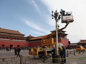 China 20m Lifting Height of Mixed Boom Mobile Elevating Work Platform for work at height on sale