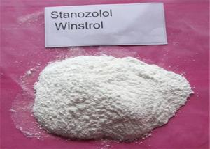 China Pharmaceutical White Winstrol Stanozolol CAS 10418-03-8 For Fast Muscle Growth on sale