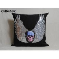 alibaba supplier 100%polyester home linen pillow cover decorative cushion with competitive price