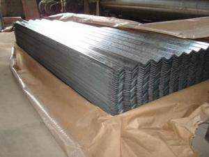 China SGCC Galvanized Corrugated Roofing Sheet JIS G3302,Zinc coating 60-275g/m2 on sale