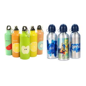 China Mida 500ml 600ml 750ml Blank Sublimation water bottle aluminum sport bottle for Summer Outdoor Camping Cycling on sale