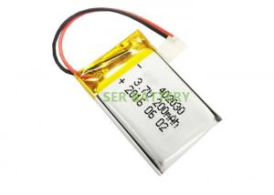 China Lipo Lithium Ion Polymer Rechargeable Battery 402030 Mp3 GPS PSP Mobile Electronics Device on sale