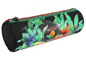 China 4c Print Oval Custom Pencil Case Zipper Closure Kids Pencil Case PVC Backing Inside on sale