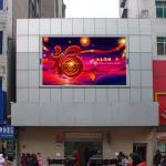 7000 cd HD brightness outdoor P10 advertising LED screen video wall, good stability, low power, support WiFi, 3G