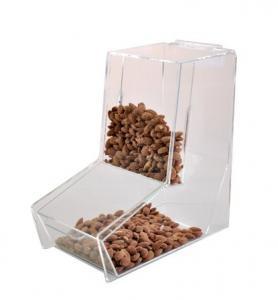 China Acrylic Gravity feed bulk food dispensers on sale