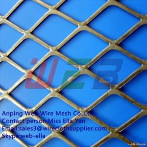 China Flattened expanded metal  for construction (Anping Manufacturer) on sale