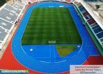 Rubber running track for stadium flooring in Suphan Buri, Thailand