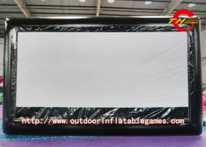 China Advertising Inflatable Outdoor Movie Screen With Oxford Cloth Material on sale