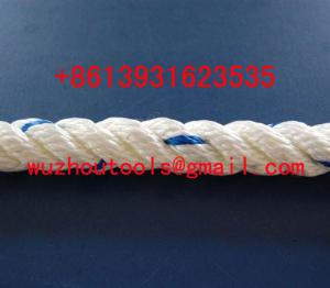 China Solid braided nylon rope  large strength climbing rope on sale