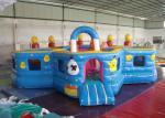 Прекрасная водоустойчивая раздувная спортивная площадка малыша, прокат надувного замка детей