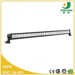 China 12v / 24v 260W waterproof led light bar for 4x4,off road,4WD/IP67,CE,RoHS on sale