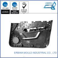 China IATF 16949 Cert Auto Interior Trim plastic injection mold , Car Body Black Car Plastic Door Parts on sale