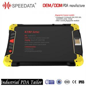 China Front and Back Camera Bluetooth Wifi Android Tablet PC for Oil and Gas Company with RFID Reader and Fingerprint Reader on sale