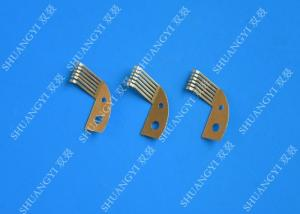 China Custom Battery Electrical Crimp Terminals Lug Type Copper High Precision on sale
