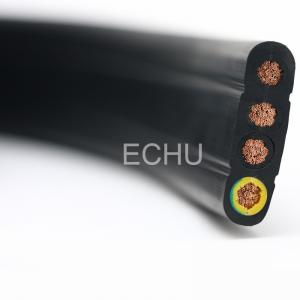 China Flat Cable for Crane and Lifter 4*35mm2 4*70mm2 4*95mm2 3*25mm2 on sale
