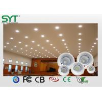 High Power Compact Round Led Downlight Spotlight 50000 Leds Hours Life