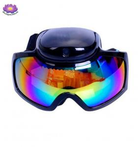 China Fashionable Full HD 1080P Sports Skiing Goggles  Camera Outdoor DVR Glasses Action Camera glasses for skiing Sun Glasses on sale