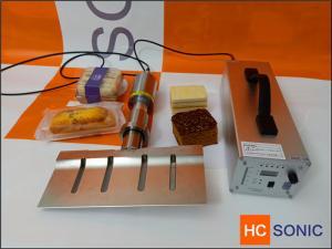 China 20Khz 1000W  titanium Ultrasonic cutting equipment for Bread / Cake cutiing on sale