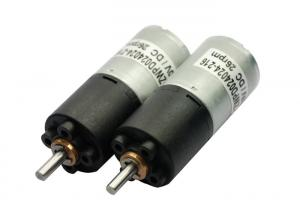 China Low noise 24mm Gear Box , electronical micro dc gear motor,home automation motor on sale