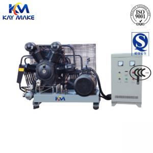 China Durable High Pressure Piston Air Compressor With Pneumatic Control Unloading System on sale
